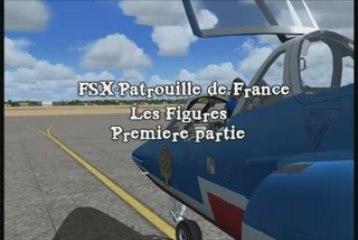 FSX-Patrouille de France: Les Figures [Partie 1]