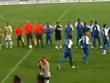 CFA -FC Libourne St Seurin / YZEURE : entrée des joueurs ...