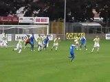 FC Libourne St Seurin : premier tir dangereux  de la saison
