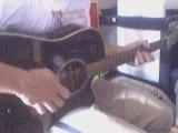 guitare blues en mi majeur accoustique