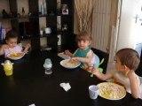 1er repas à trois