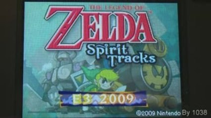 The legend of Zelda: Spirit Tracks - BOSS STAGE