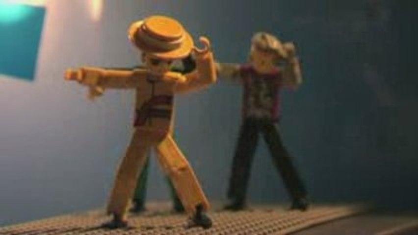 Michael Jackson concerts à l'O2 en Lego version courte