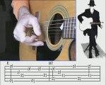 Doc Watson Guitar Lesson - Deep River Blues