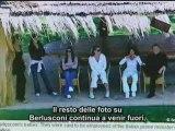 Berlusconi veline: le foto censurate in Italia (TG Spagna)