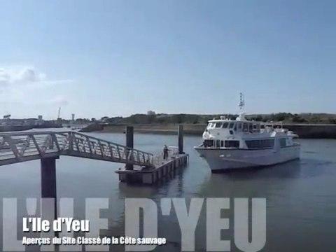 L'Ile d'Yeu - Vues de la Côte sauvage Site Classé (HD)