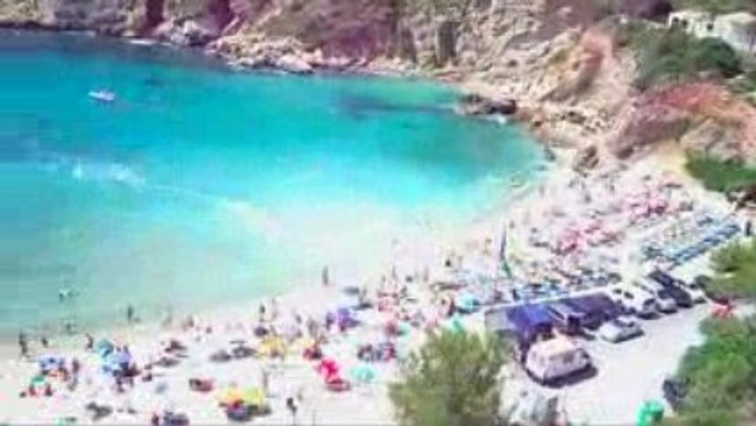 Plage Granadella Espagne 4 km Cap Negre Javéa