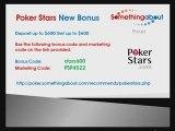 PokerStars Bonus - Bonus Code PokerStars