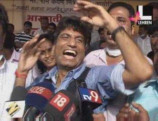 Raju Srivastav scares Swine Flu