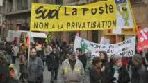 "Solidaires ""Contre la privatisation de la Poste"" [Expression Directe- Solidaires]"