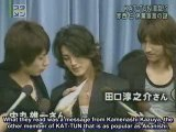 AKAME by Dana - 2006.10.15 KAT-TUN in a mess as Jin leaves