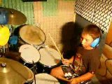 jeune batteur martin 7 ans