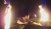 Fire Contact Staff -  cafe' Toumai Fire Show