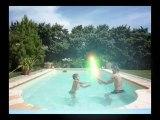 Star Wars combat de sabre laser Jedi