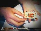 tour de magie : carte lévitation sur www.Xtremillusion.com