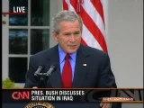 Stupid Bush vs Blind guy