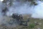 MUST SEE - NEW, Firing the 88mm flak gun,