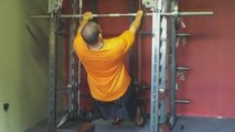 Body Weight Rows for a Challenge with Mr. Low Body Fat