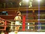 Vincent , combat en thailande