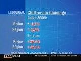 Le chômage recule en juillet en Rhône-Alpes