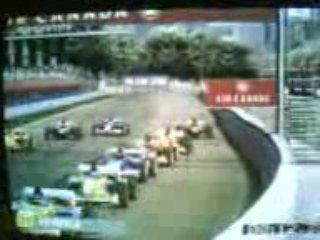 Formula One 2003 ps2 Heidfeld crash