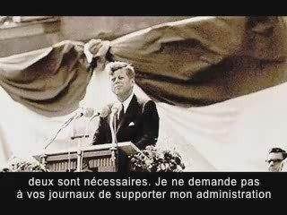Discours de JFK - Sociétés Secrètes
