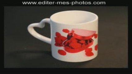 Offrir un cadeau personnalisé : tasse imprimée avec photo