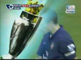 Manchester United  2 - 1  Arsenal Highlights - Aug 29 2009
