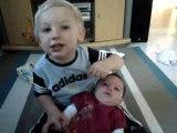 Bébés Nino et Lily