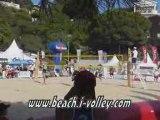 Point gagnant Masculin Championnat de France Beach Volley