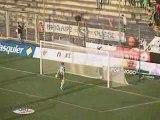 Le doublé de Modeste (Football Angers-Ajaccio L2)