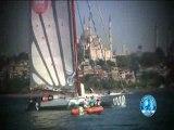 Le départ du DCNS 1000 à l'Istanbul Europa Race