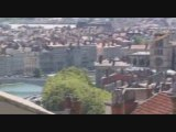 La vue de Lyon depuis l'Esplanade de la Croix Rousse