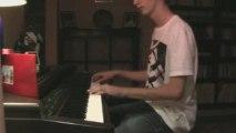 Moi au piano - Comptine d'un autre été - Yann Tiersen