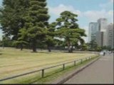 A Tokyo, le samedi, autour du Palais Impérial