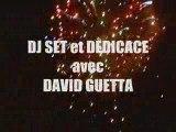 Dédicace DJ DAVID GUETTA - Virgin, Paris le 2/09/2009 (21h)