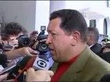 Hugo Chávez e Lula da Silva