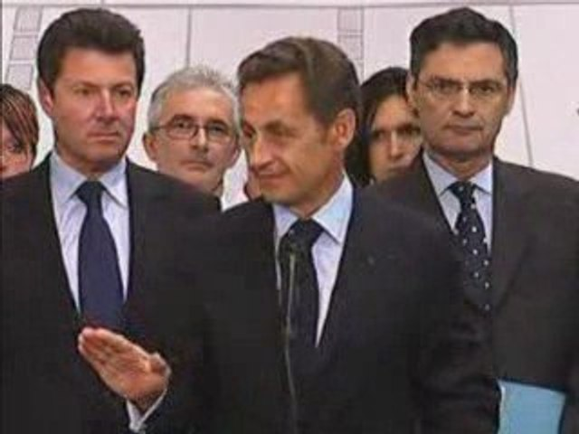 Silence : Sarkozy à Caligny. (Le meilleur discours)