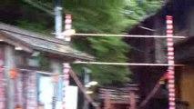 superbe vue sur kyoto après avoir monté, monté, monté, monté