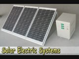 Solar Electric Systems-Cheapest Solar Electric Systems