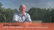Questions à Gilles Launay - Election municipale 13 sept 2009