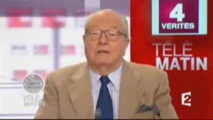 Jean-Marie Le Pen dans les 4 Vérités 8_9_2009