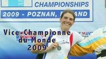 Médaille d'argent Nathalie Benoit au championnat du monde 2009