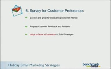 Holiday Email Marketing Strategies From Benchmark Email