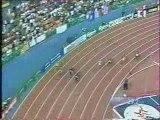 Men 400m Final (Michael Johnson 43.18 WR) Sevilla 1999
