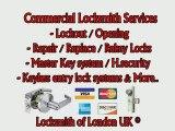 London Locksmith | Mobile Locksmith in London UK | Lockout