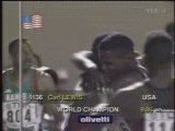 Athletics - 1991 Tokyo WC - Men 100m - Carl Lewis - 9.86s