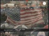 Cérémonies pluvieuses du 11 septembre à New York