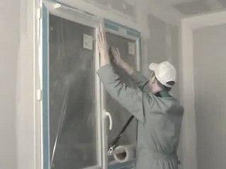 Film auto-adhésif de protection avant travaux