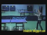 Girls with great pingpong skills